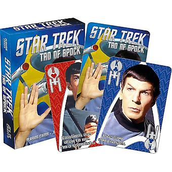 Star Trek Tao Of Spock Set Of 52 Playing Cards (nm)
