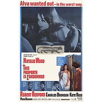 This Property Is Condemned Movie Poster (11 x 17)