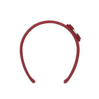 Salvatore Ferragamo women's 0430315 red viscose headband