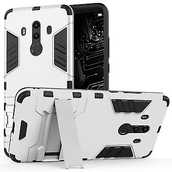 Huawei Mate 10 Pro Armour Combo staan Case - staal zilver