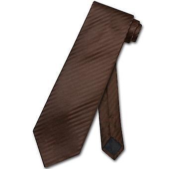 维苏维奥·那不勒斯 Neckti 垂直条纹设计男士颈部领带