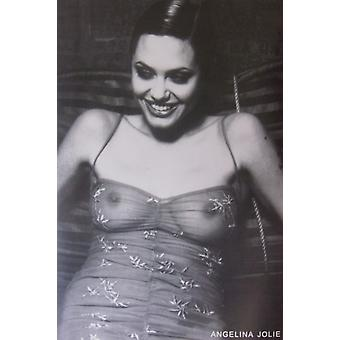 Angelina Jolie See Through Top Poster Poster Print