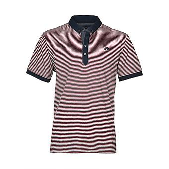 Fine Stripe Jersey Polo Shirt