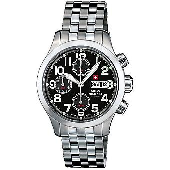 Swiss military mens watch automatic chronograph A5. ST4M / SMA30007. 09
