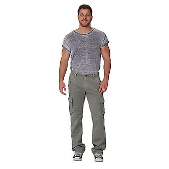 Men's Cargo Trousers Cargo pockets Drawstring at ankle