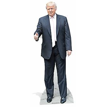 Donald Trump Pink Tie USA President Lifesize Cardboard Cutout / Standee