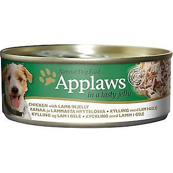 Applaws Dog kann essen Huhn mit Lamm In Gelee