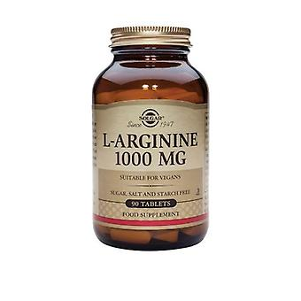 Solgar, L-Arginine, 1000 mg, 90 Tablets