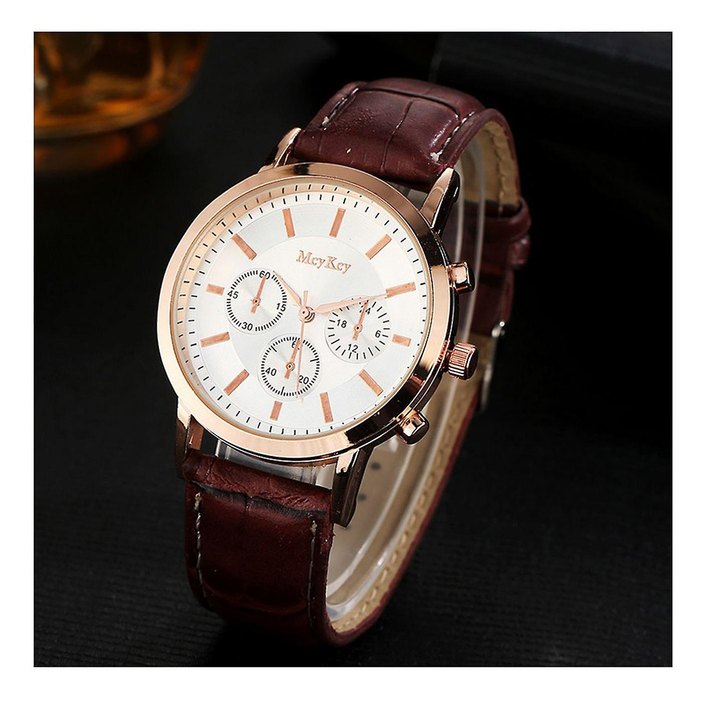 Luxury Rose Gold Chrono Watch Time Called Elegant