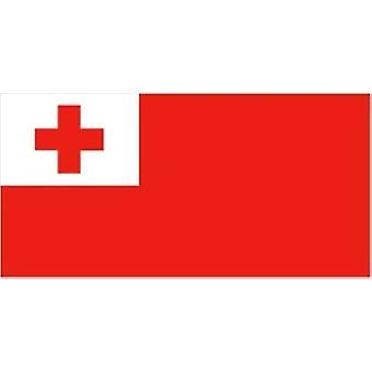 Tonga flagg 5 ft x 3 ft med hull For hengende