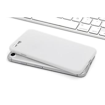 Sleek white shell for Iphone (7)