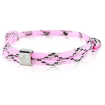 Skipper bracelet surfer band node maritimes bracelet pink/black 6787