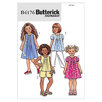 Children's/Girls' Top, Dress, Shorts and Pants-2-3-4-5 -*SEWING PATTERN*