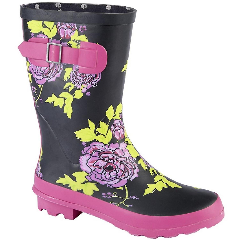 Boot Ladies Wellington Womens Mid Woodland Calf 4WqwXPYRY