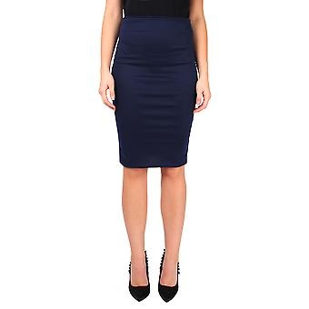 KRISP  Womens Ladies Workwear Office Business Smart Casual Knee Long Pencil Midi Skirt