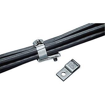 Cable mount Screw fixing Metal Panduit MTM1H25-C MTM1H25-C 1 pc(s)