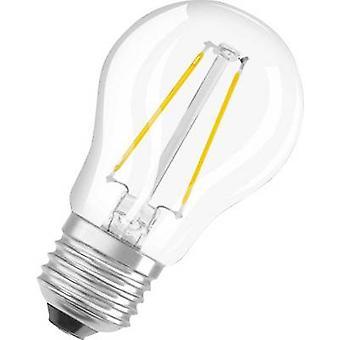 OSRAM LED EEC A++ (A++ - E) E27 Droplet 2.8 W = 25 W Warm white (Ø x L) 45 mm x 77 mm Filament 1 pc(s)