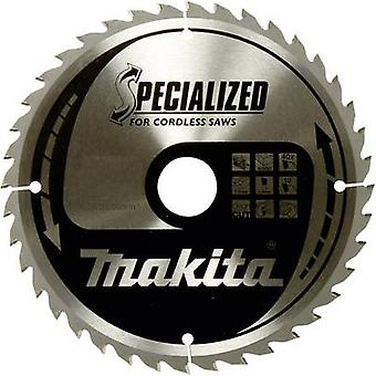 Carbide metal circular saw blade 165 x 20 x 1 mm Number of cogs: 40 Makita SPECIALIZED B-32954 1 pc(s)