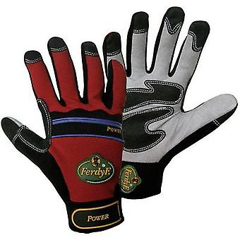 Clarino faux leather Work glove Size (gloves): 7, S EN 388 CAT II FerdyF. Power 1910 1 pair