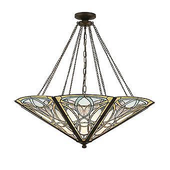 Wnętrza 1900 Dauphine 8 Mega światło Żyrandol
