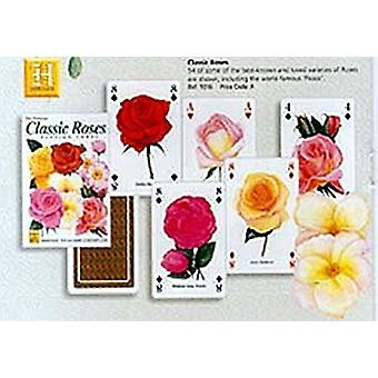 Classic Roses Set Of 52 Playing Cards (+ Jokers)