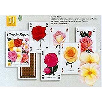 Klassiske roser sæt med 52 spillekort (+ jokere)