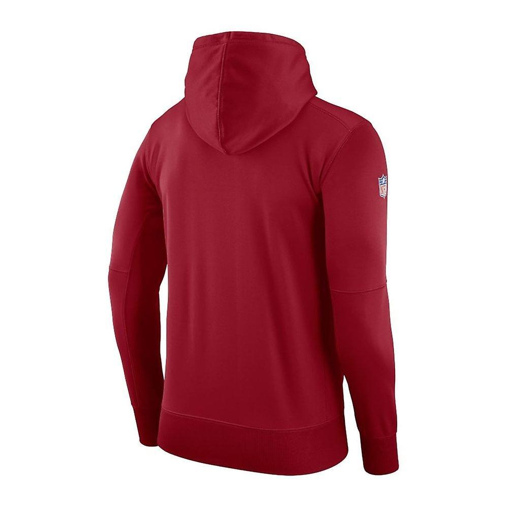 Nike Nfl Arizona Cardinals Therma Po Hood