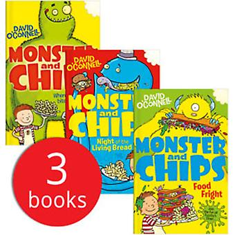 Monster & Chips Collection - 3 Books