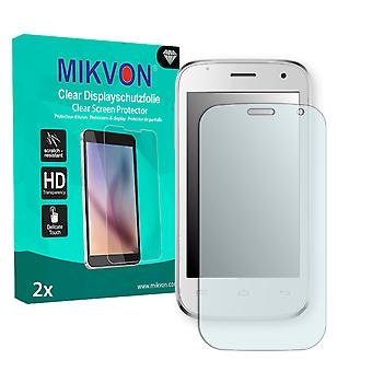Mobistel Cynus F3 Screen Protector - Mikvon Clear (Retail Package with accessories)