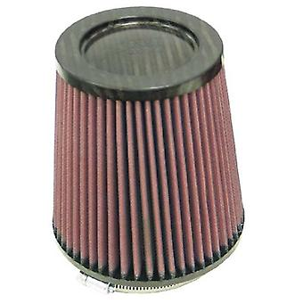 K & N RP-4740 Universal Clamp-On Air Filter: Runde tilspidsede; 4.5 i (114 mm) Flange ID; 6 i (152 mm) højde; 5.875 in (149