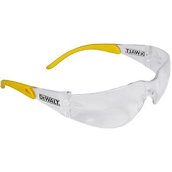 Dewalt Mens DeWalt Secure Rubber Protector Safety Glasses