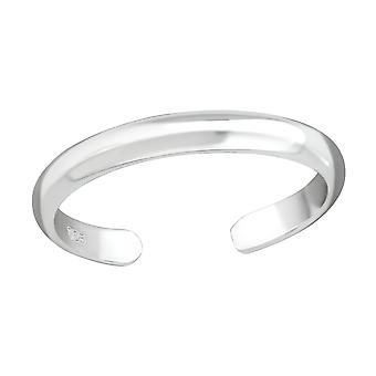 2mm Band - 925 Sterling Silver Toe Rings - W37281x