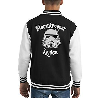 Originele Stormtrooper legioen Heavy Metal Kid's Varsity Jacket
