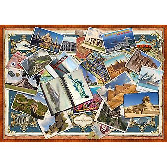 Schmidt Greetings From Around The World Jigsaw Puzzle (1500 Pieces)