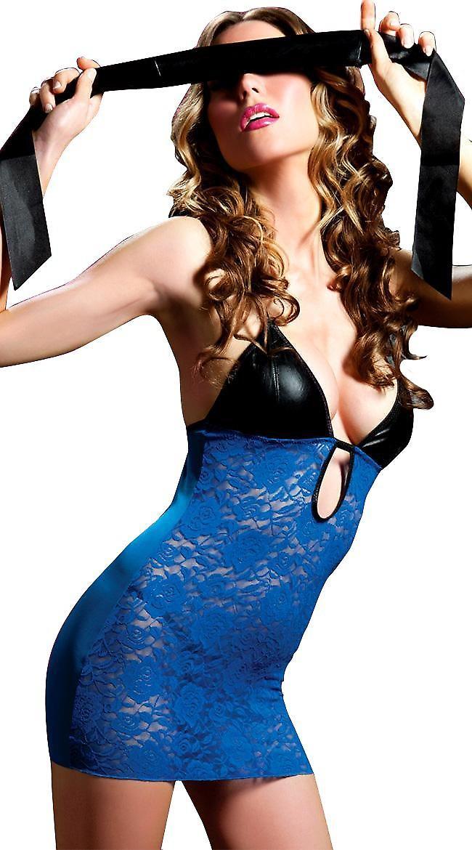 Waooh 69 - Mini Robe Moulante Bleue