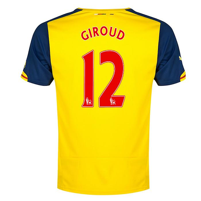 2014-15 Arsenal auswärts Shirt (Giroud 12) - Kids