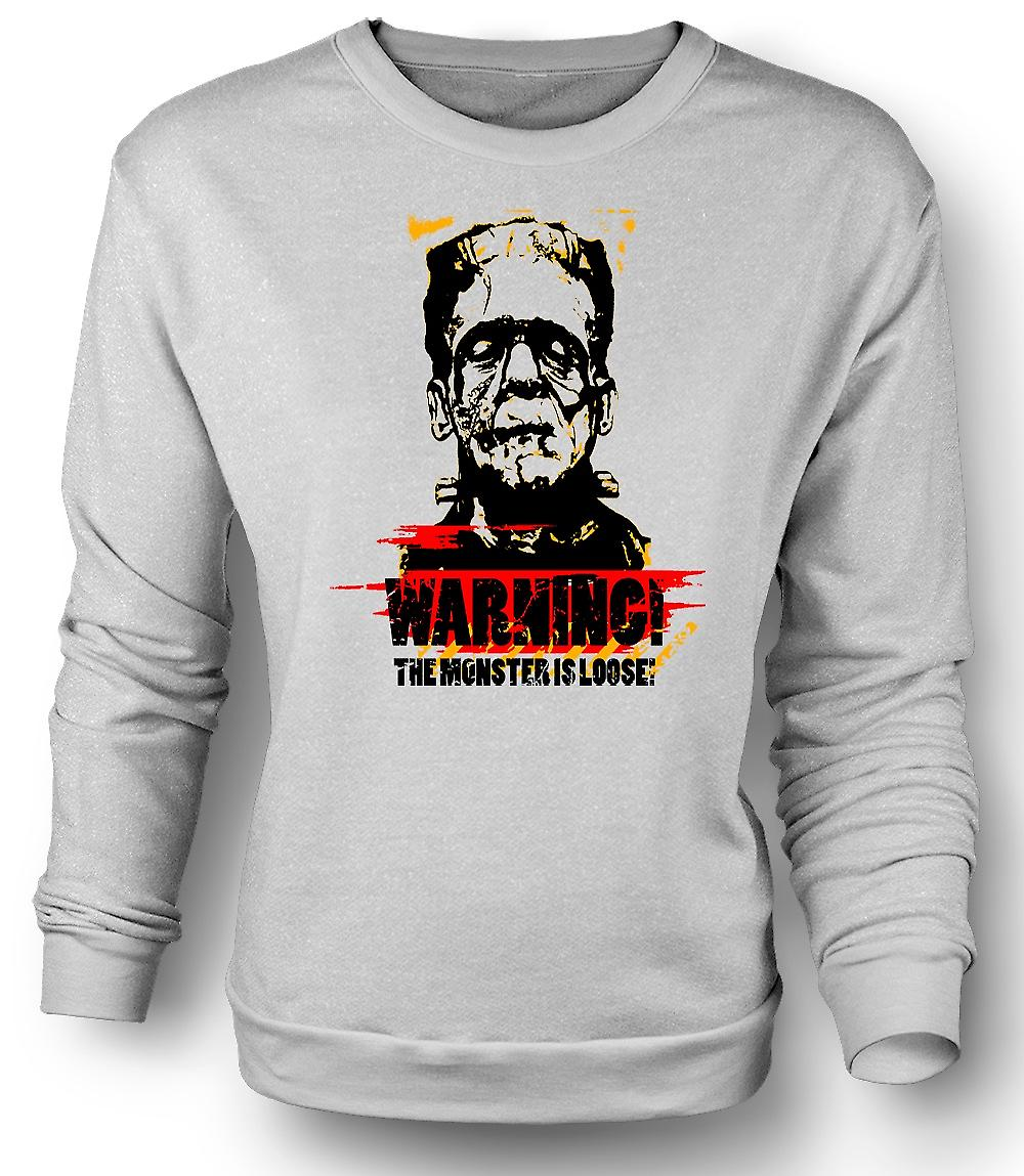 Mens Sweatshirt Dracula Bat - morsomme Horror