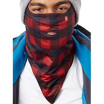 Airhole Red-Buffalo Standard 2-Layer Snowboarding Facemask