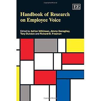 Manual de investigación sobre la voz del empleado (manuales de investigación en negocios y gestión serie)