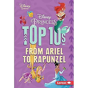Disney Princess Top 10s: From Ariel to Rapunzel