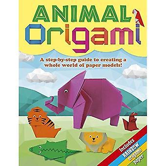 Origami animaux: Un Guide étape par étape pour créer tout un monde de maquettes en papier!