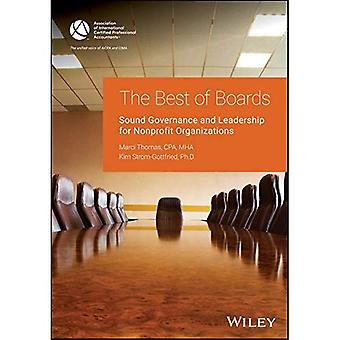 Best of Boards: Sound Governance and Leadership for Nonprofit Organizations (AICPA)