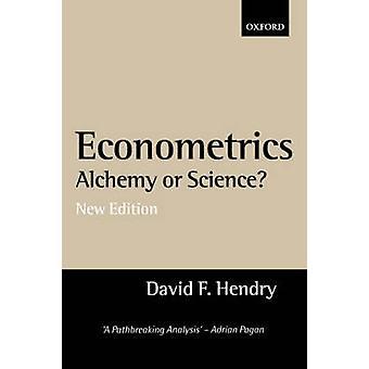 خيمياء الاقتصاد القياسي أو المقالات العلمية في منهجية الاقتصاد القياسي بواو هندري آند ديفيد