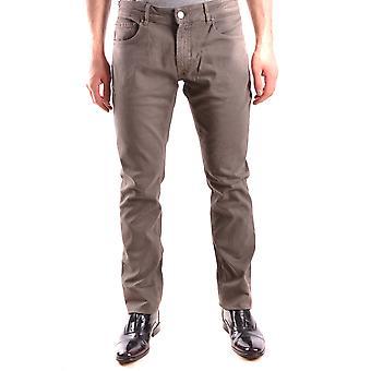 Pt05 Soul Beige Cotton Jeans
