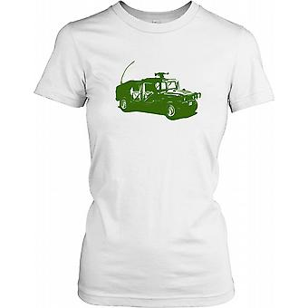 Army Humvee - Legendary Armoured Car Ladies T Shirt