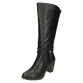 Ladies Rieker Knee High Boots 96059
