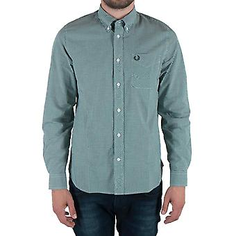 Fred Perry Men's Classic Gingham Long Sleeve Shirt M6377-426