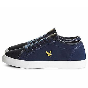 Lyle And Scott Teviot Knitted Plimsoll Trainers