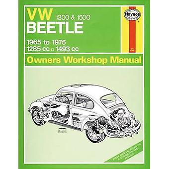 VW Beetle 1300/1500 Service and Repair Manual - 9780857337047 Book