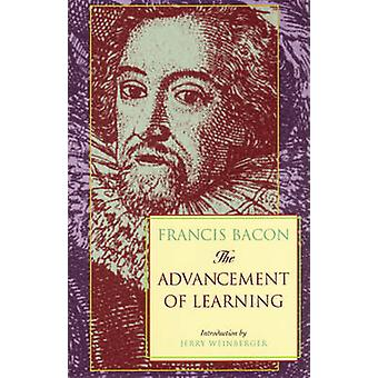 The Advancement of Learning by Francis Bacon - G.W. Kitchin - 9780966